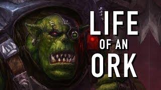 Orks Outside of Battle in Warhammer 40K