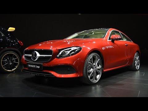 2018 Mercedes-Benz E-Class Coupe First Look: 2017 Detroit Auto Show