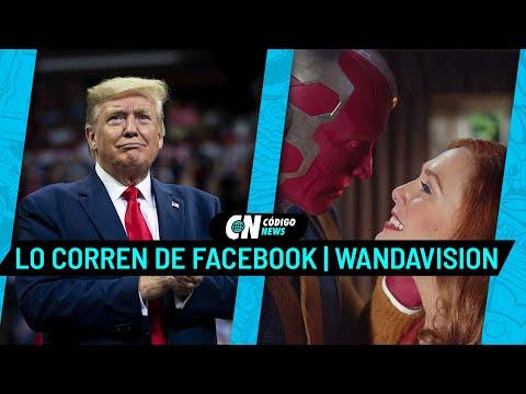 Donald Trump, WhatsApp y WandaVisión en Código News