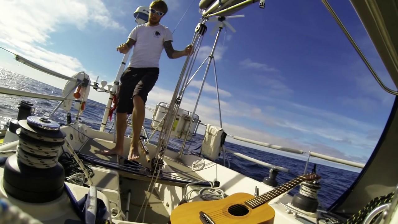 Sailing the atlantic single handed
