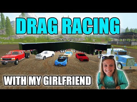 GAMING GIRLFRIEND   FIRST TIME PLAYING   NEW CARS   FARMING SIMULATOR 2017