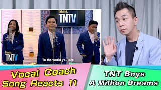 Vocal Coach Reacts TNT BOY I Am Telling You I'm Not Going
