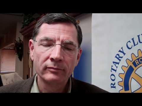 Sen John Barrasso at Lander Rotary Jan 18 2012