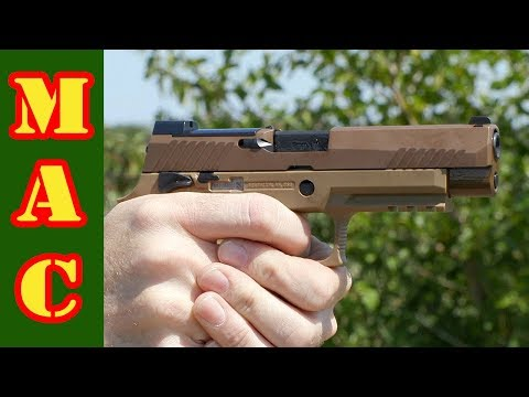 Sig M17 and the P320's Modularity