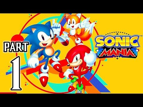 SONIC MANIA Walkthrough PART 1 (PS4 Pro) No Commentary Gameplay @ 1080p  (60ᶠᵖˢ) HD ✔