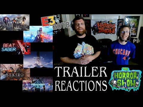 E3 2018 Non-Horror Video Game Trailer Reactions - pt. 1 - The Horror Show
