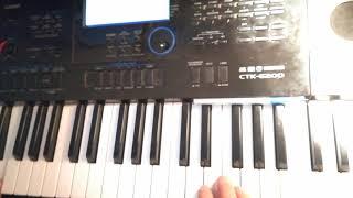 видео урок на Casio 6200, как сделать красивые тембры и (звуки)