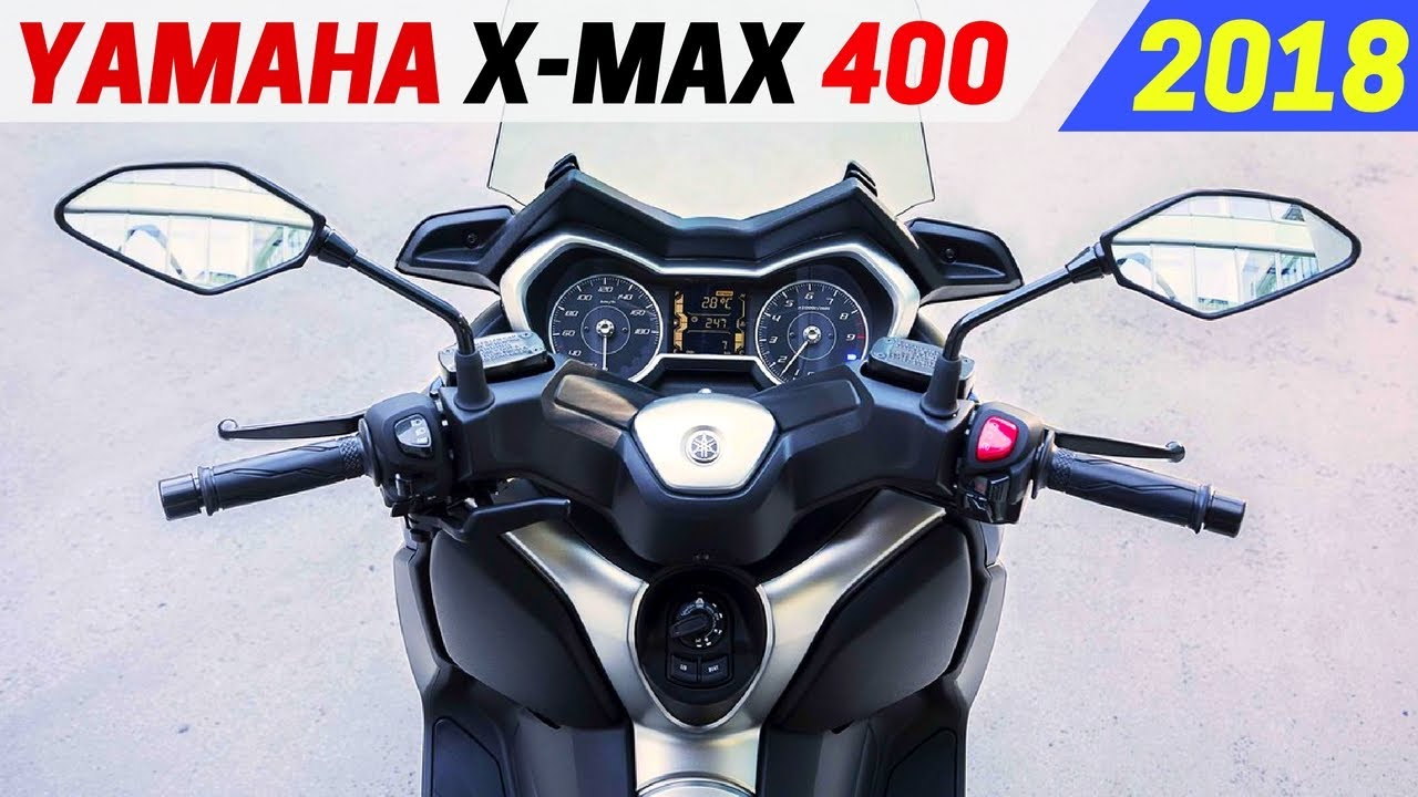 new 2018 yamaha x max 400 new performance with the. Black Bedroom Furniture Sets. Home Design Ideas
