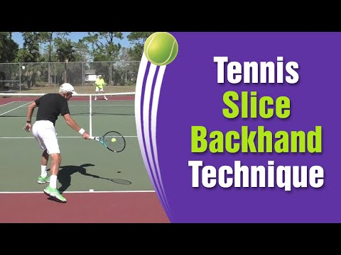 Tennis Forehand Slice Technique - How To Slice In Tennis