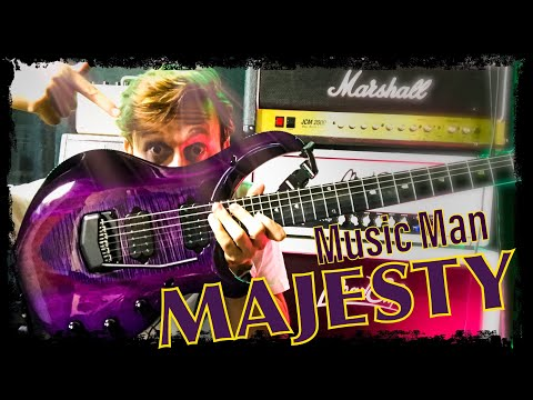 """music-man-majesty-monarchy-review-ita---la-chitarra-""""regale""""-di-john-petrucci"""
