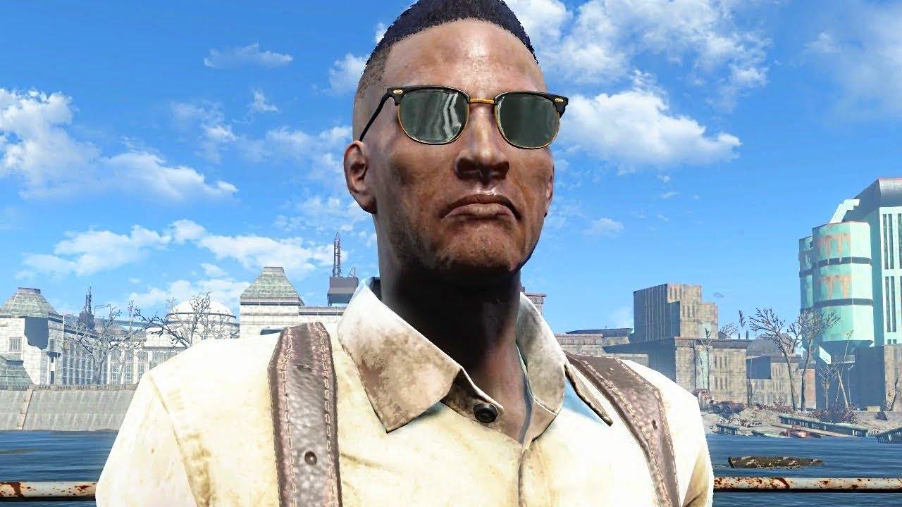 Fallout 4 - NELSON LATIMER (Diamond City Blues) Boss Fight