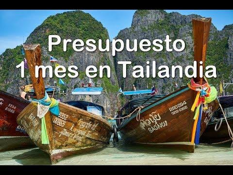 Cuanto cuesta un mes en Tailandia? (desde Argentina y desde Europa)