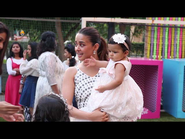 Genelia D'Souza, Surveen Chawla Along With There Kid's At Sharad Kelkar Daughter Kesha Birthday
