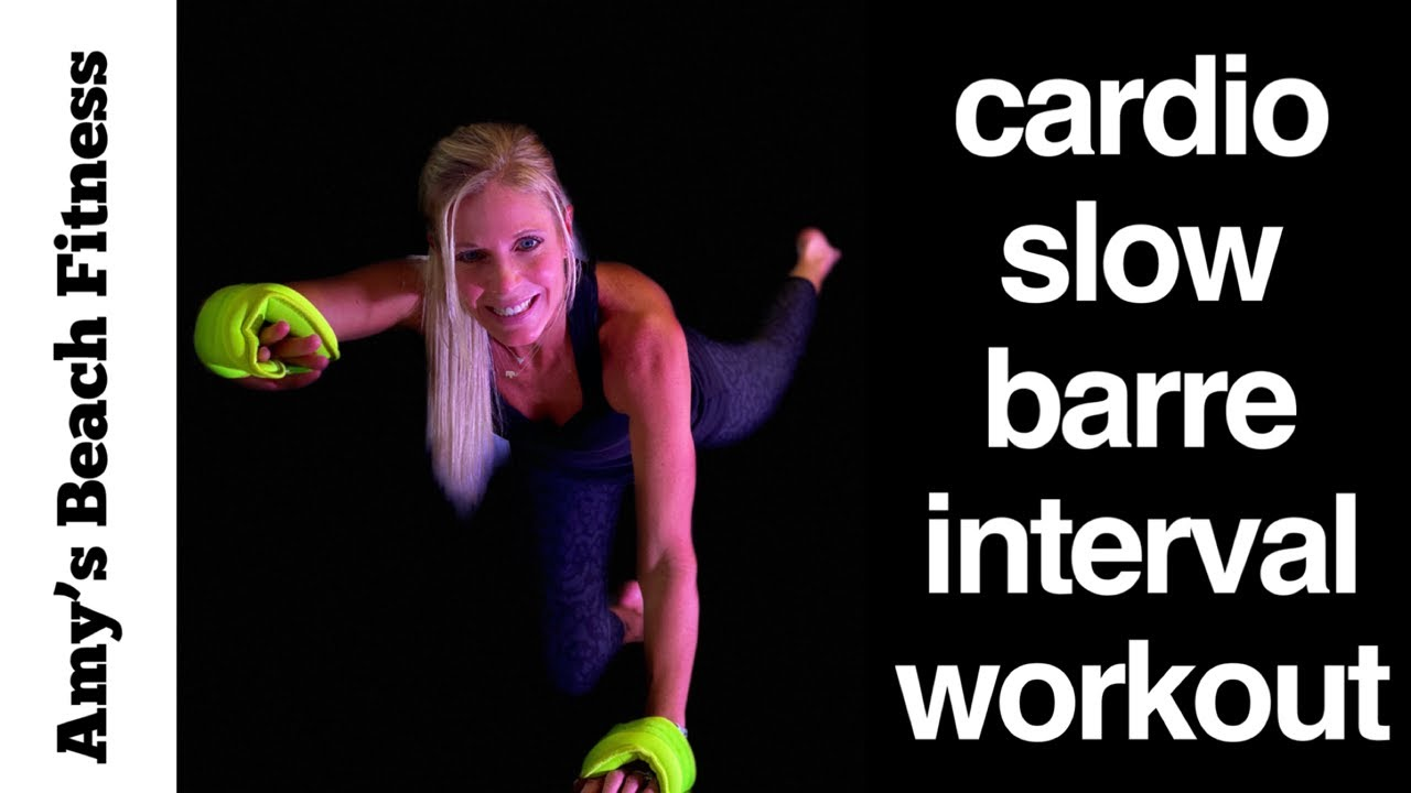 30 Min Cardio Slow Pure Barre Interval Workout