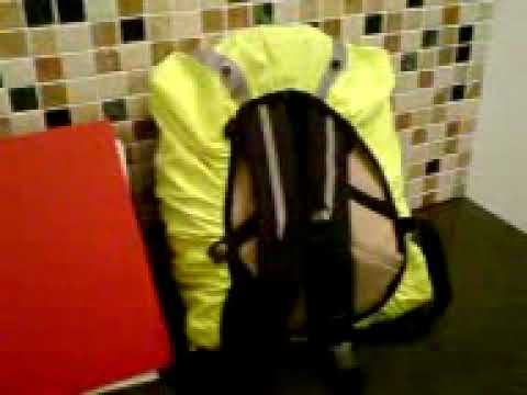 Respro Hump waterproof rucksac cover - YouTube 5d7eb7d653d7e