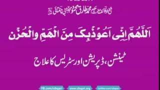 Allahumma Inni Auzu Bika Min al Hammi Wal Hazan Hakeem Tariq Mehmood