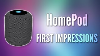 Apple's HomePod! - Unboxing & My First Impressions