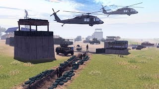 Обложка US HELICOPTER CRASH DEFENSE MARINE BASE DEFENSE LINE Call To Arms Gameplay