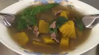 សម្លរប្រហើរល្ពៅ សាច់គោ Cambodian amazing food /Khmer culture food / Asian food