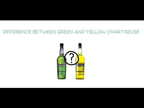 Difference between Green and Yellow Chartreuse