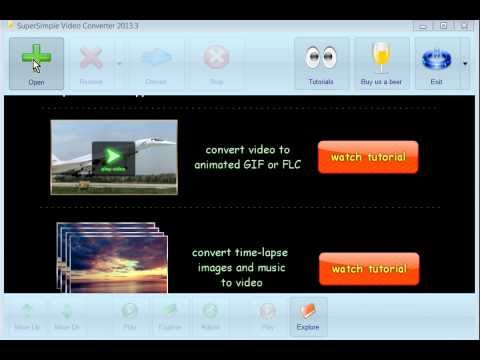 [Free]-Super Simple Video Convert 2013.3+portable/ 32bit