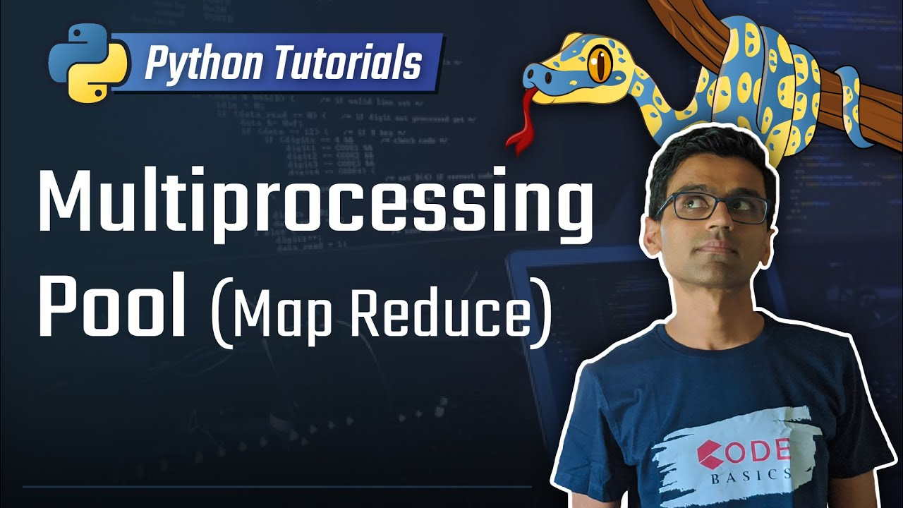 Pool Map Python Python Tutorial   31. Multiprocessing Pool (Map Reduce)   YouTube