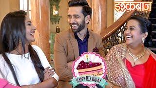 Shivaay & Anika Celebrate His On-screen Mom's Birthday   Ishqbaaz
