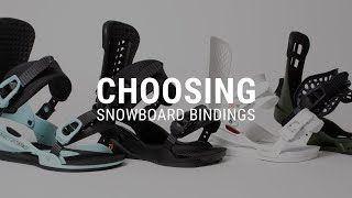 How to Choose Snowboard Bindings - Tactics
