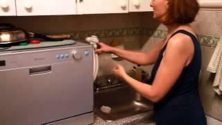 edgestar compact dishwasher demo