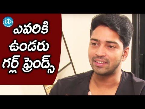 Everyone Will be Having Affairs and Girlfriends - Allari Naresh  || Talking Movies With iDream