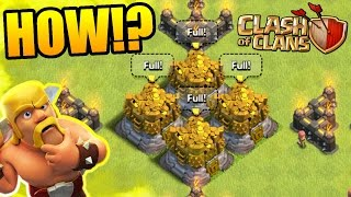 Clash Of Clans - HOW DO I FIND ALL THIS LOOT!?! - Maxing Out Town Hall 11 2016!