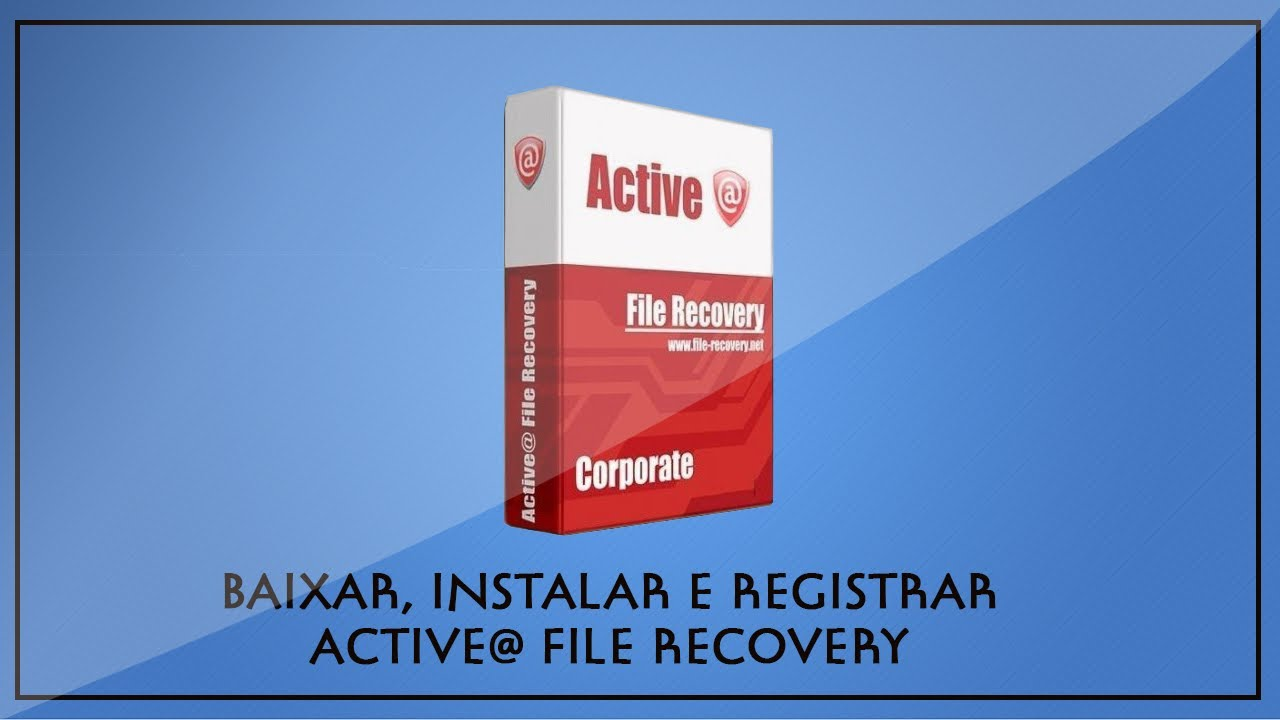 Active@ file recovery pro 14. 5. 0 serial key (updated).