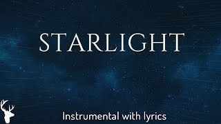 STARLIGHT Bethel Music Acoustic Instrumental Piano Karaoke with Lyrics