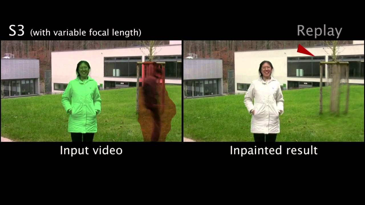 Background inpainting for videos with dynamic objects and a free-moving  camera - ECCV 2012