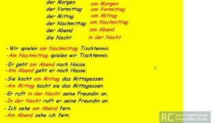 Almanca cümle kuralları