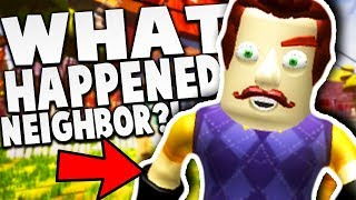 WHAT HAPPENED TO THE NEIGHBOR!? | Hello Neighbor Roblox Game (Hello Neighbor Beta 3 in Roblox)