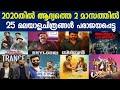 New Malayalam Movie 2020 Boxoffice Collection Reports|Trance|Shylock|Anjaan Pathira|Ak|VA|Dhamaka