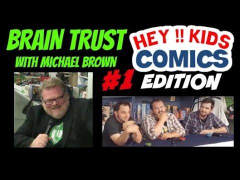 Comic Book Edition - BRAIN TRUST #1