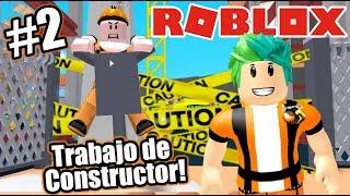 Builder's Work at Roblox Roblox Disaster Roblox Karim Games Play