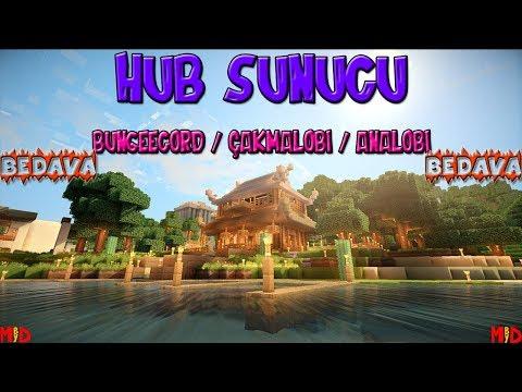 Minecraft Hub Plugin Paketi + Map  BEDAVA  😀