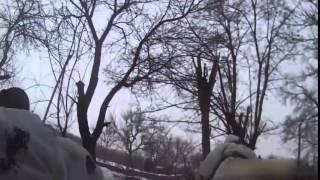 War in Ukraine Debalcevo Война на Донбассе Бои под Дебальцево  Начало наступления