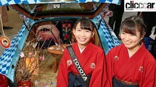 東京オートサロン2018の美女は、コンパニオンさんばかりではありません...