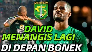 Tangisan David Da Silva saat Nyanyikan Song For Pride Persebaya