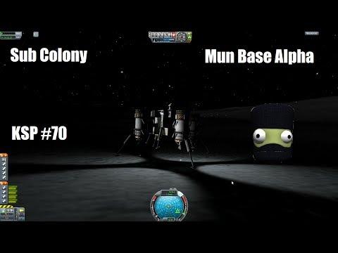 KSP #70 - Mun Base Alpha: Generator (Sub Colony)