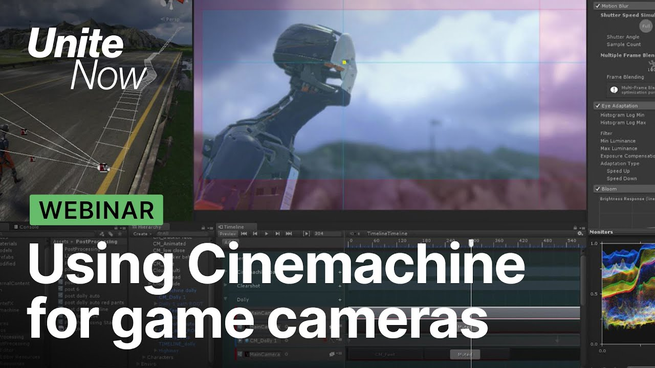 Download Cinemachine: powerful camera tools for games and film   Unite Now 2020