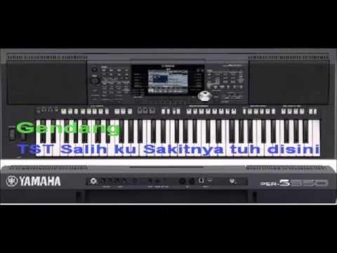 Instrument Gendang Keyboard Karo (Odak-Odak ras Patam-Patam) PSR S950