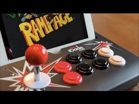 ICade Core Review - Gaming Joystick For The IPad