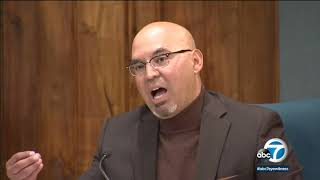 """El Rancho High School teacher and Pico Rivera City Councilman Gregory Salcido, who was recorded calling U.S. service members the """"lowest of our low"""" in an ..."""