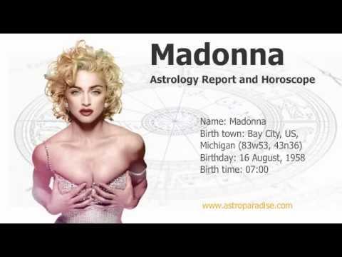 Madonna  - Astrology Predictions