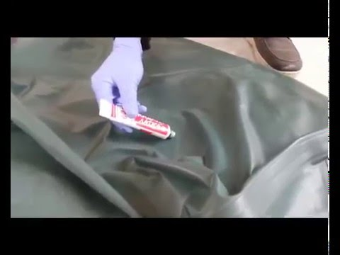 Ремонт лодок ПВХ: Ремонт шва надувной лодки своими руками